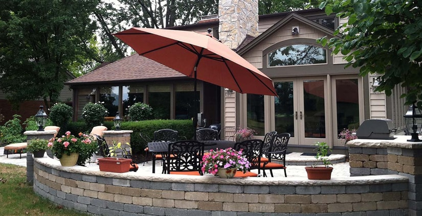 Golf Course Patio
