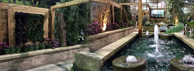 Columbus home and garden show 2017 hedge landscape Columbus home and garden show 2017
