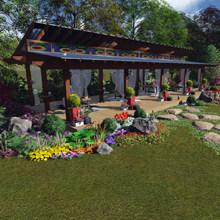 landscape services maintaining exterior structure