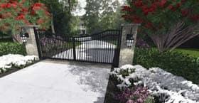 front entry gate design