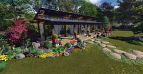 3D Design Of Exterior Structure and Living Space